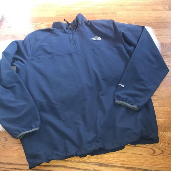 836b98715 The North Face Navy Pull pullover half zip XL